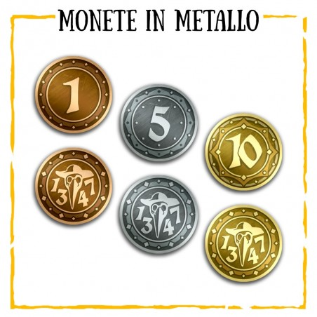 Metal coins for 1347