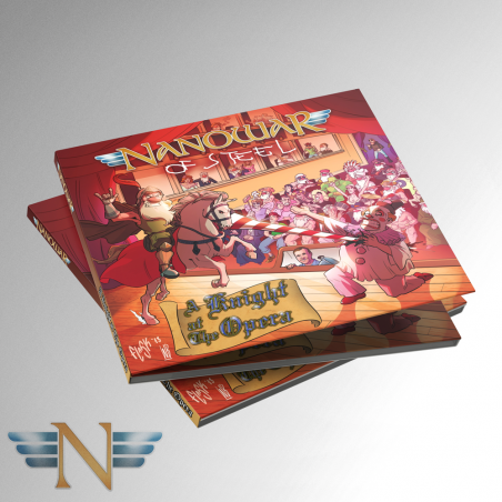 CD Nanowar - A Knight At The Opera (Digipack 2018)