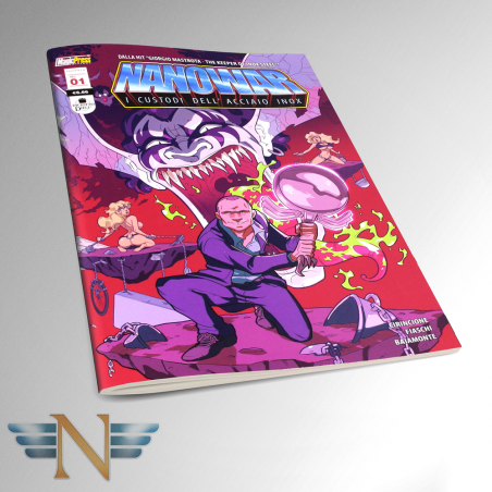 Nanowar Comic- I Custodi dell'Acciaio Inox - 1