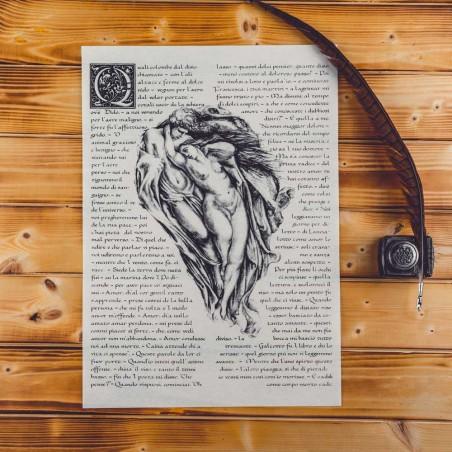 Paolo e Francesca - la storia narrata da Dante - Canto V Divina Commedia